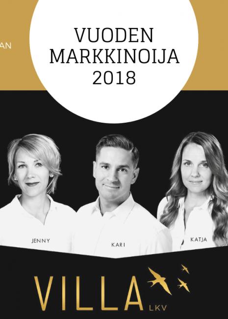 Vuoden markkinoija 2018, face